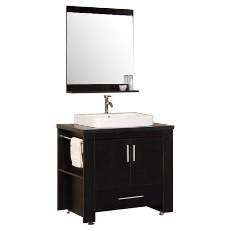 Design element washington 36 single modern bathroom for Bathroom vanities washington ave philadelphia