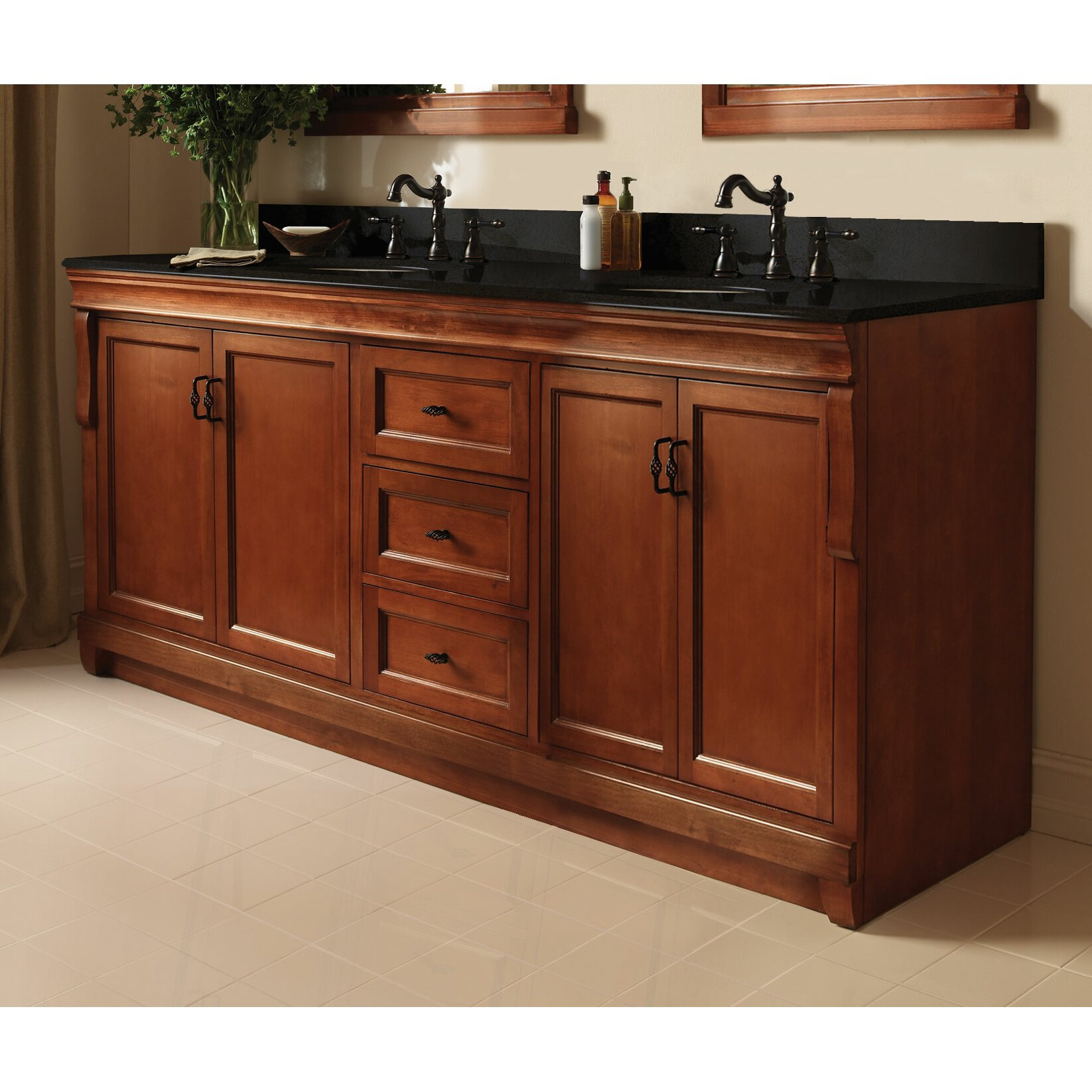 Foremost naples 60 double bathroom vanity base reviews - Wayfair furniture bathroom vanities ...