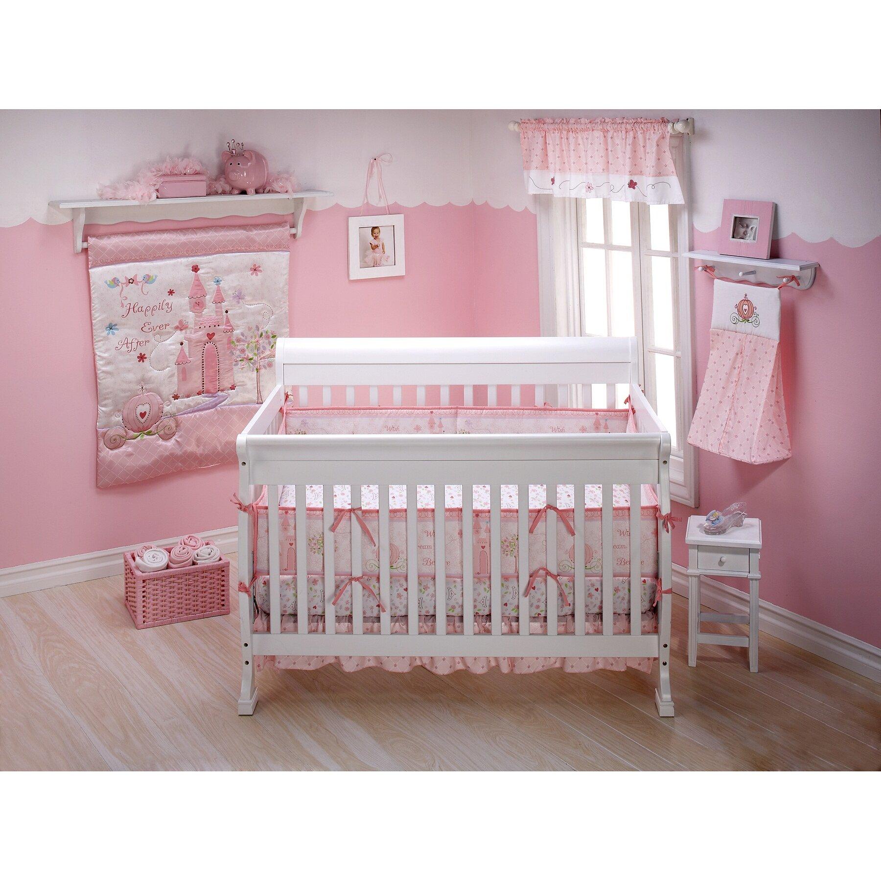 Disney Baby Princess Happily Ever After 3 Piece Crib