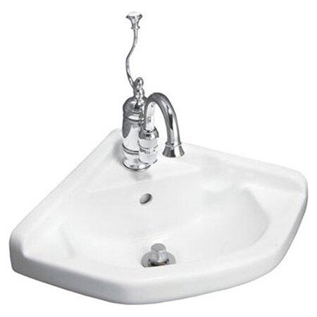English Turn Wall Mount Corner Bathroom Sink Wayfair