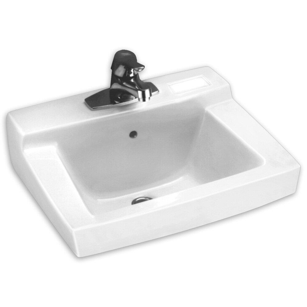 Declyn Wall Mount Bathroom Sink And Wall Hanger Wayfair