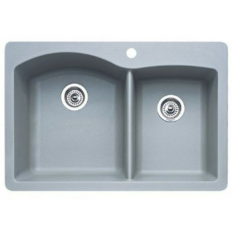 Drop In Kitchen Sink : Blanco Diamond 33