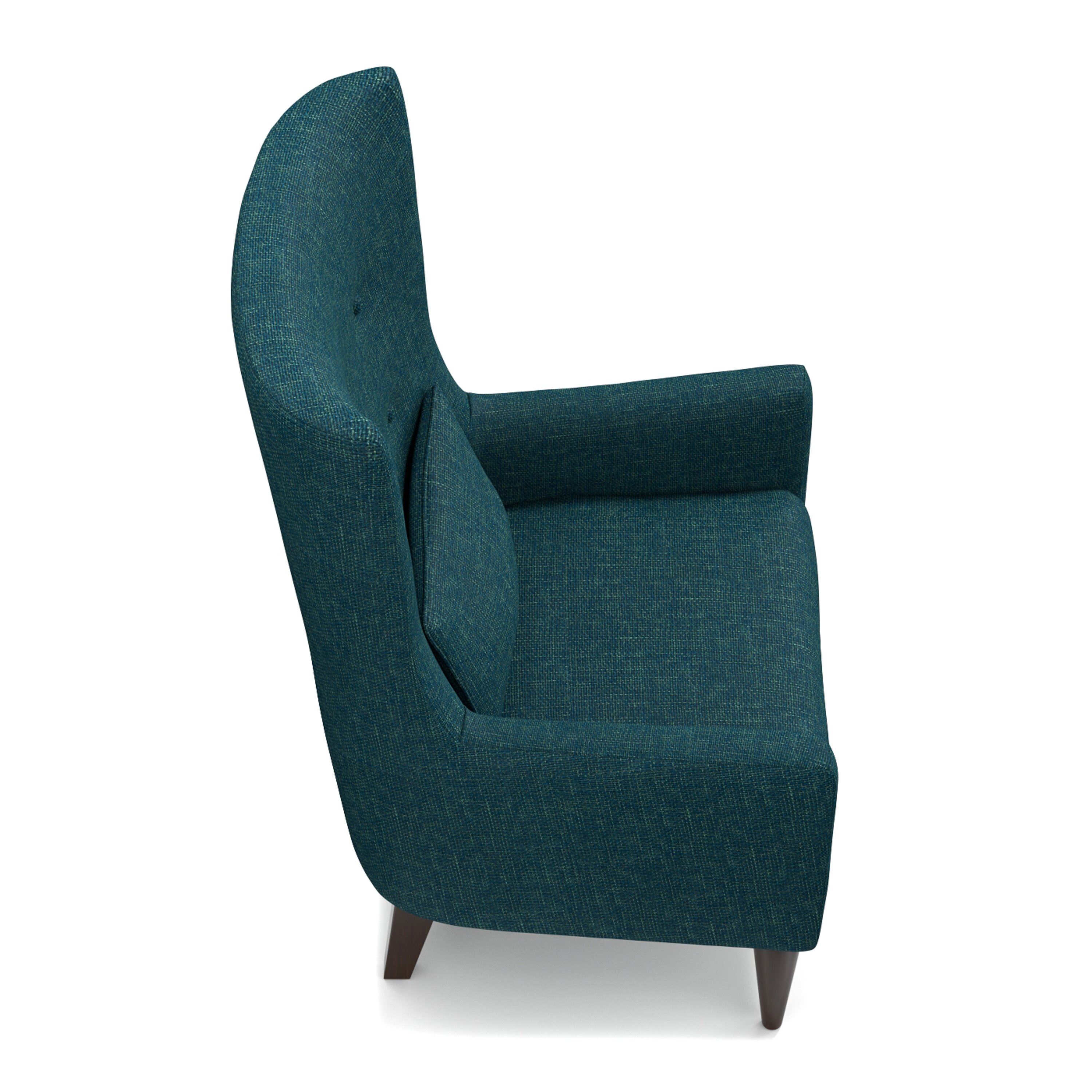 elegant gallery of high back wing chair
