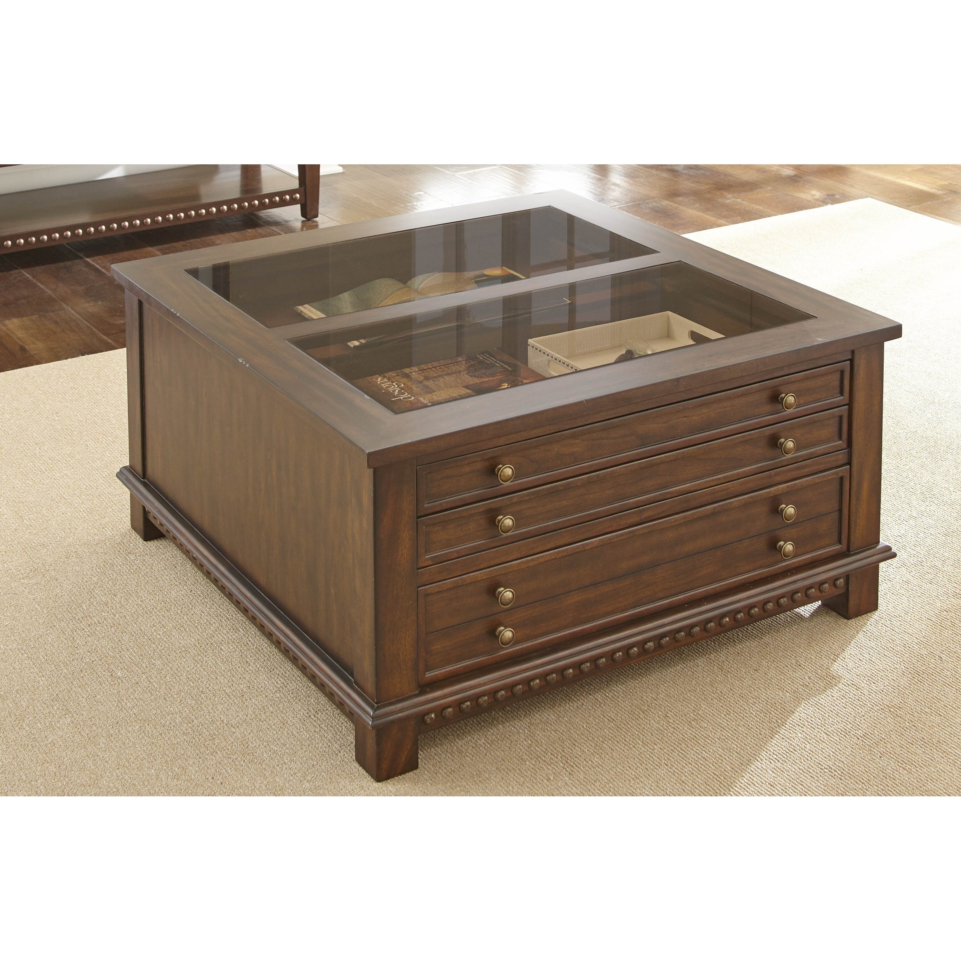 Steve Silver Company Lv200c Livonia Square Cocktail Table: Livonia Coffee Table
