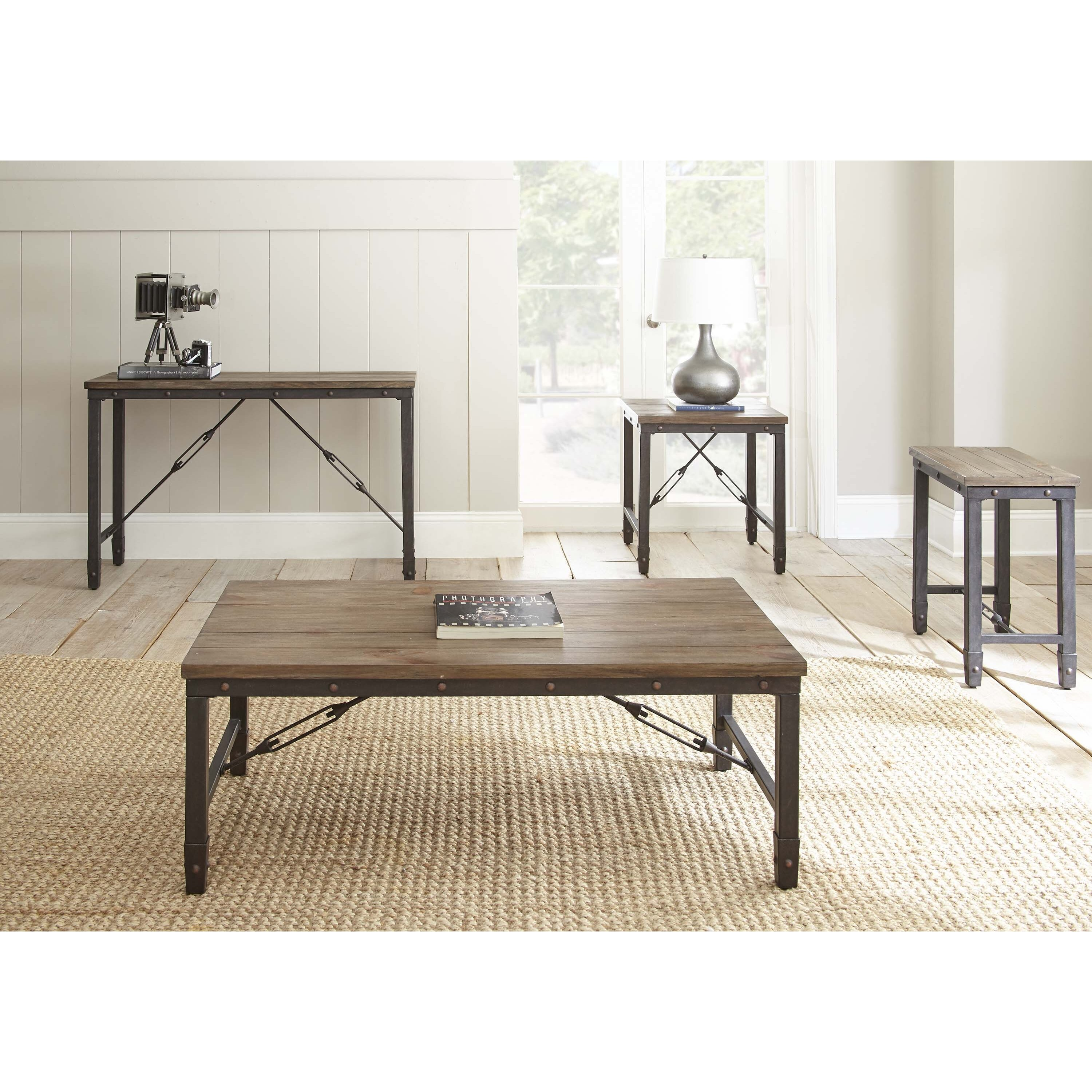 Steve Silver Furniture Jersey Coffee Table & Reviews