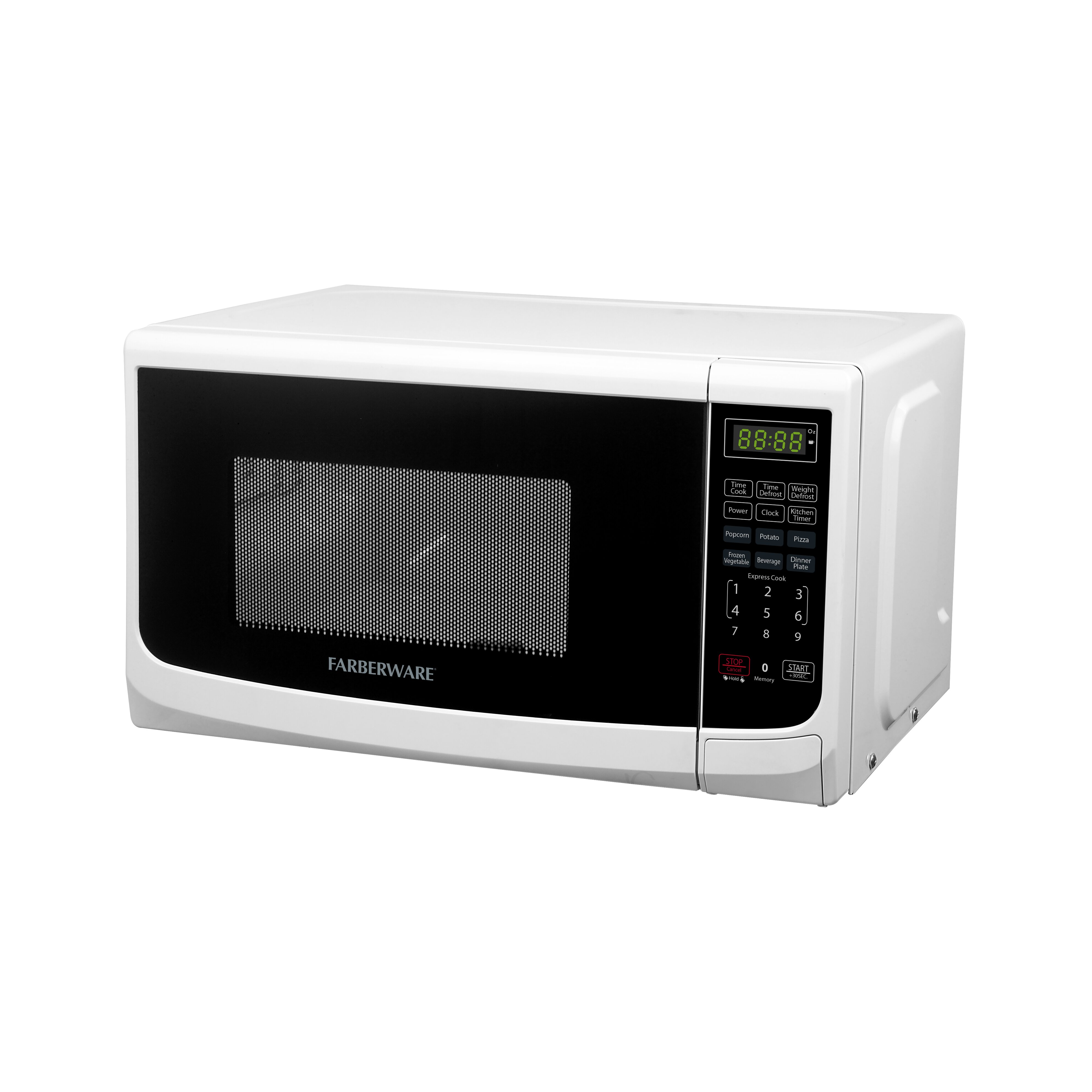 Classic 0.7 Cu. Ft. 700W Countertop Microwave Oven by Farberware