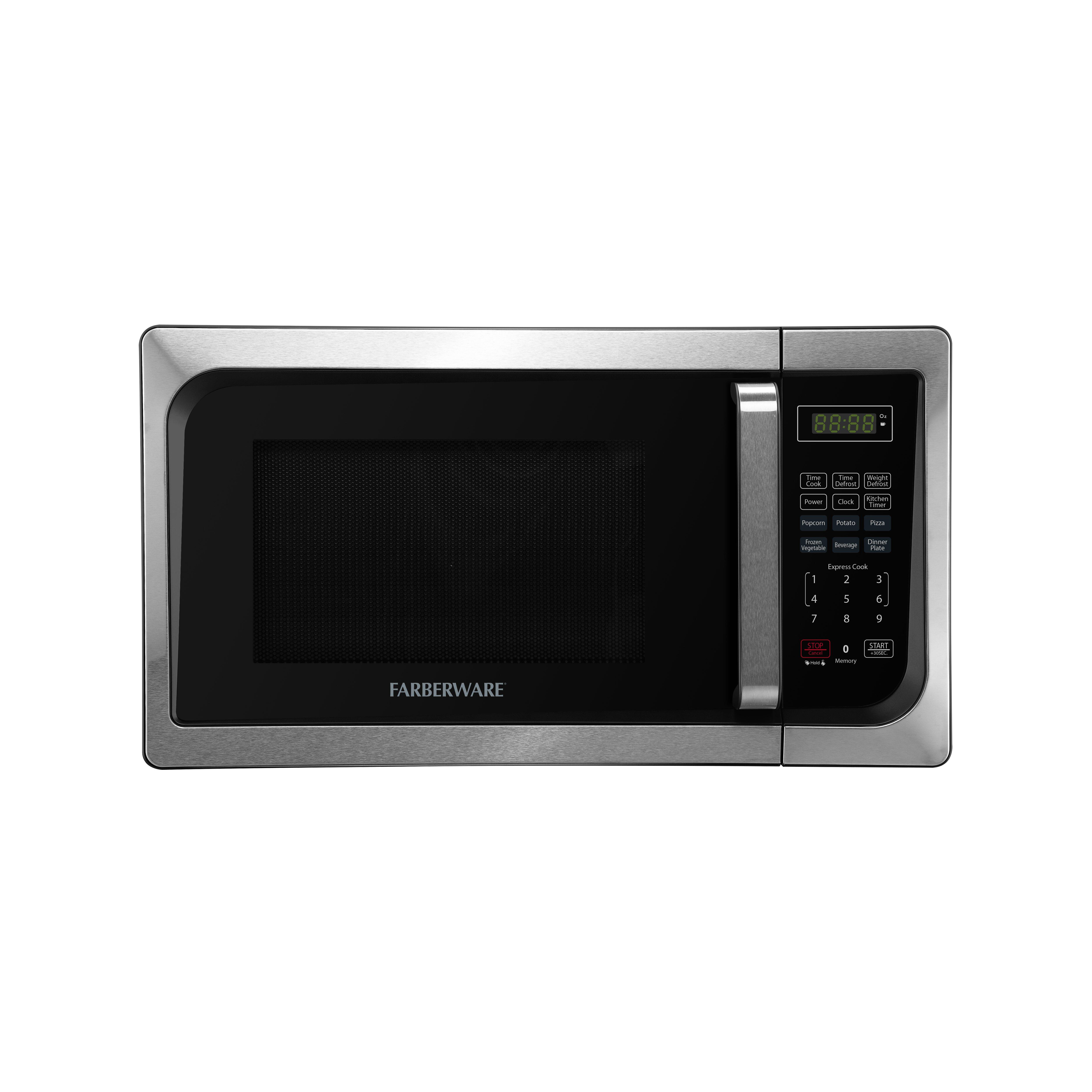 Countertop Oven Farberware : Classic 0.9 Cu. Ft. 900W Countertop Microwave Oven by Farberware