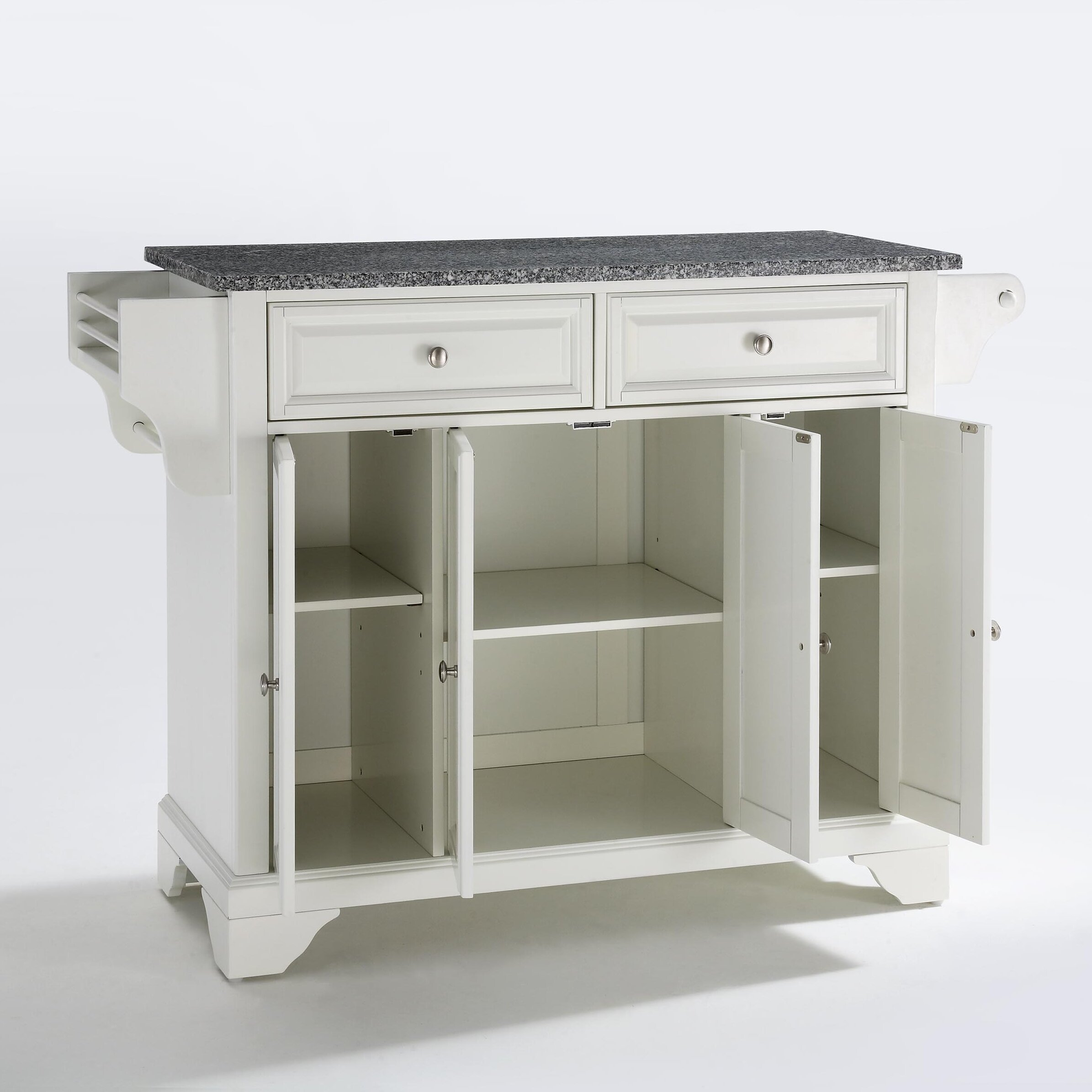 Crosley Kitchen Cart Granite Top Crosley Furniture Alexandria Solid Granite Top Kitchen Island