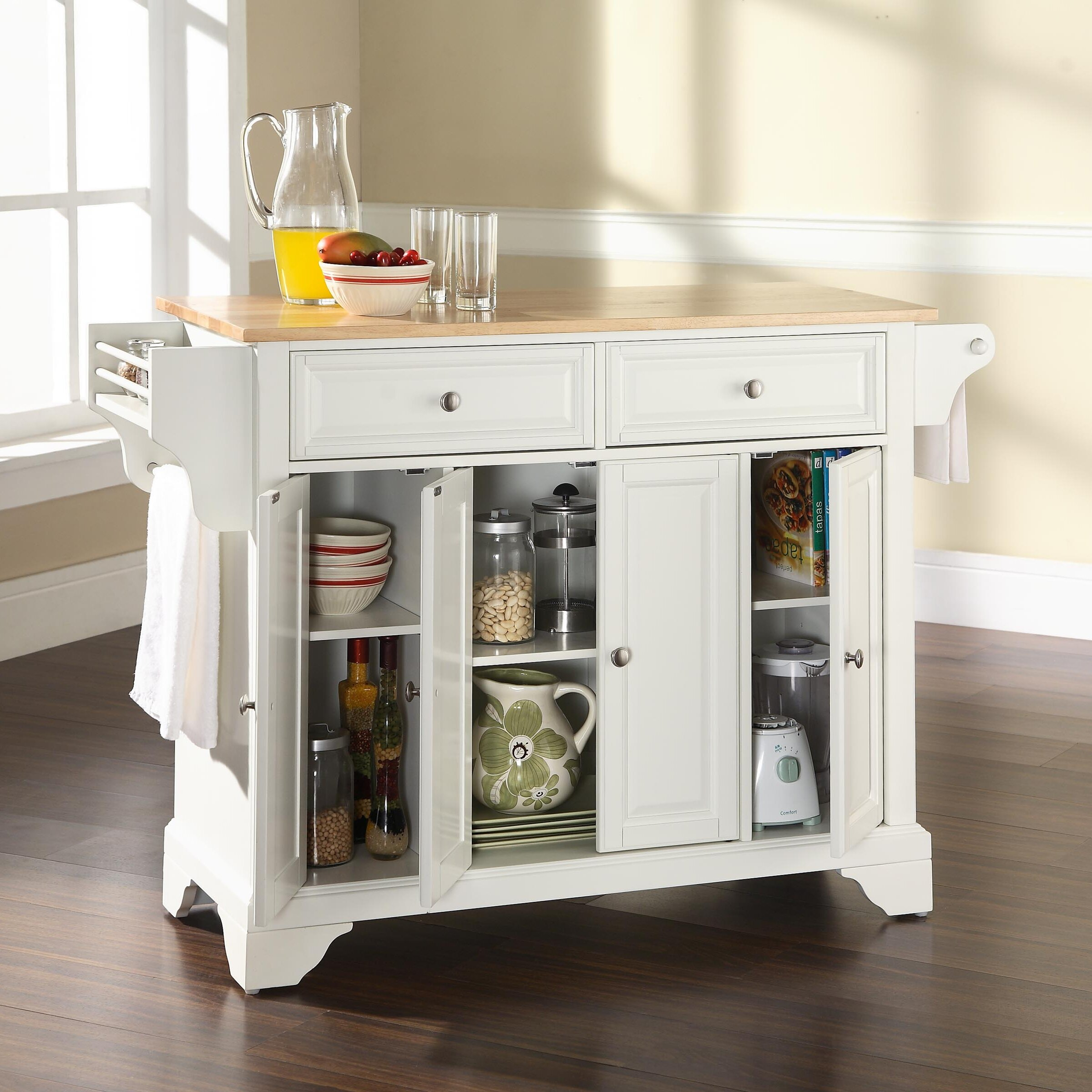 Crosley Kitchen Island: Crosley LaFayette Kitchen Island & Reviews