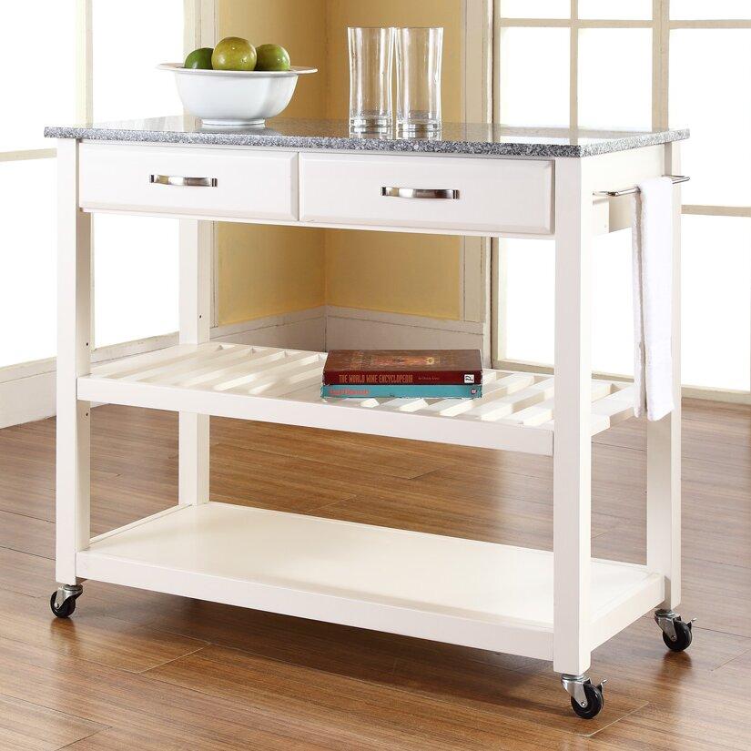 Marble Kitchen Island: Kitchen Cart With Granite Top