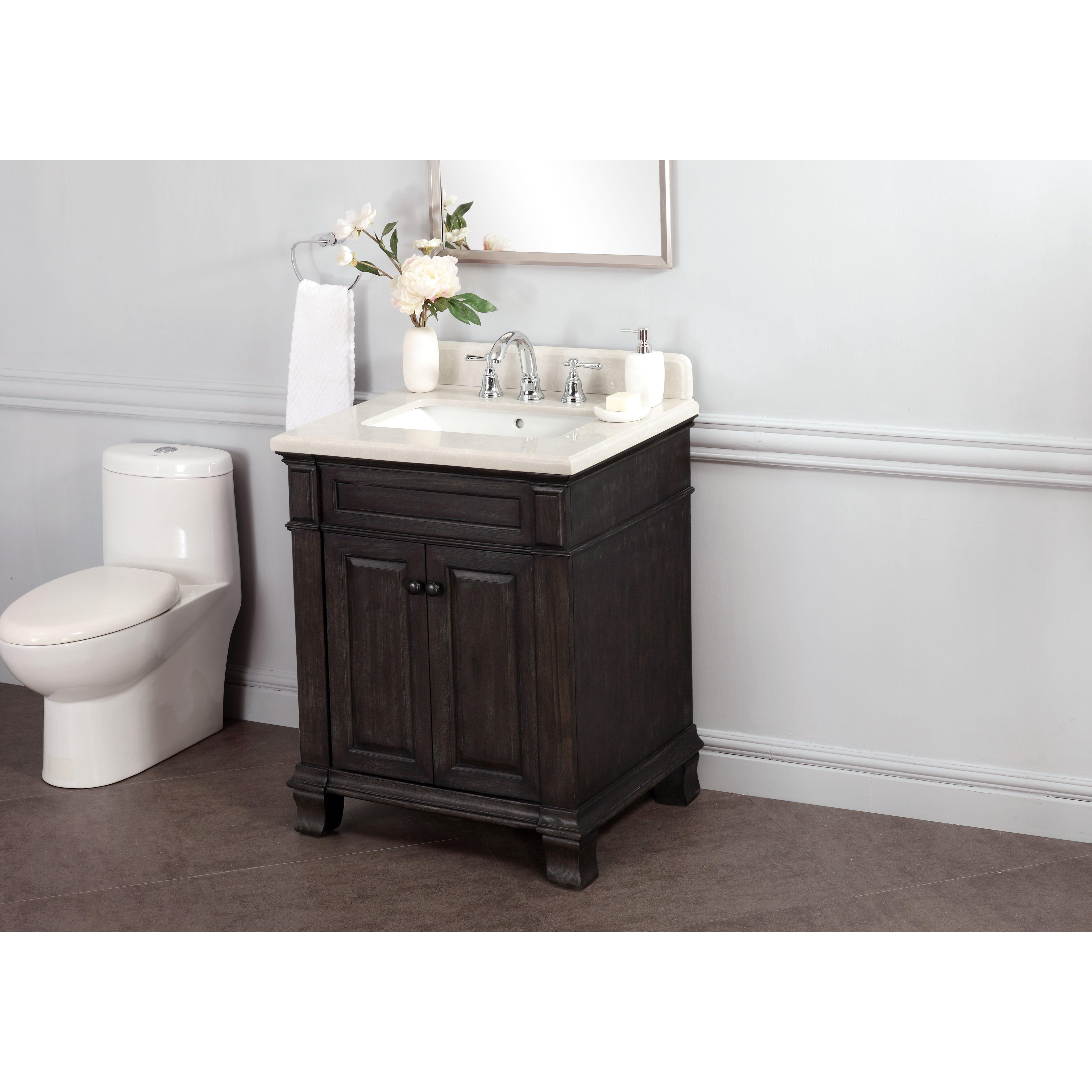 """Kingsley 28"""" Single Bathroom Vanity Set"""