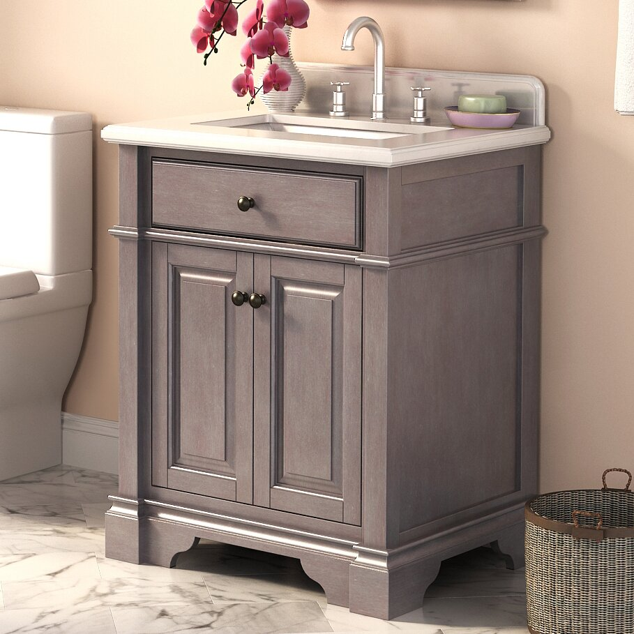 "28 Inch Bathroom Vanity With Sink: Casanova 28"" Single Bathroom Vanity"
