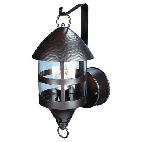 Motion Activated 1 Light Outdoor Wall Lantern Wayfair