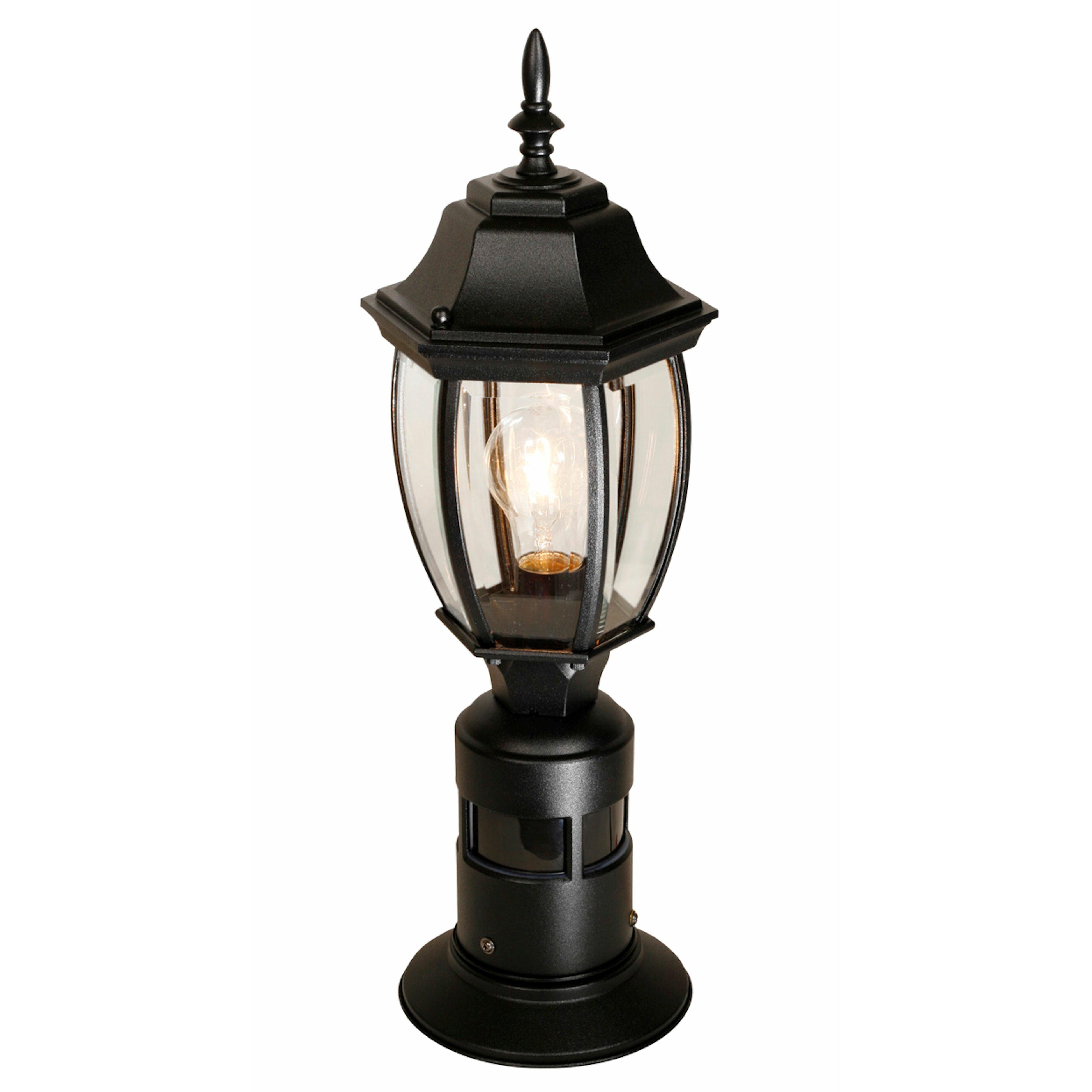 heath zenith outdoor 1 light pier mount light reviews. Black Bedroom Furniture Sets. Home Design Ideas