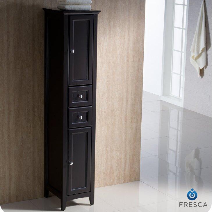 oxford 14 x 68 bathroom linen cabinet wayfair