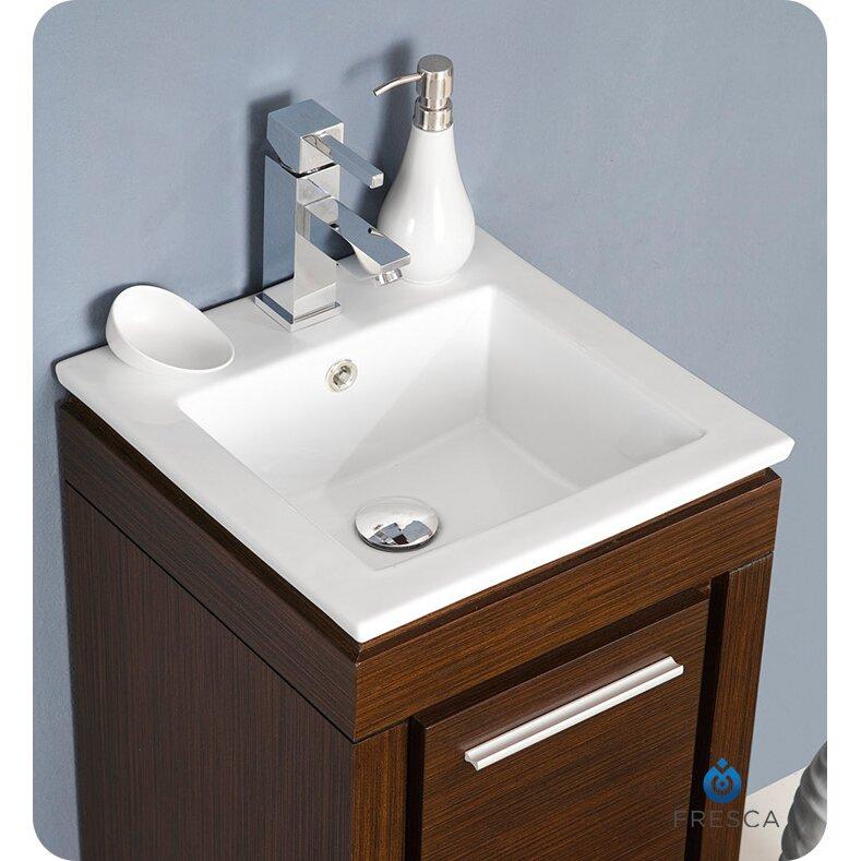 Allier 16 Single Small Modern Bathroom Vanity Set With Mirror Wayfair