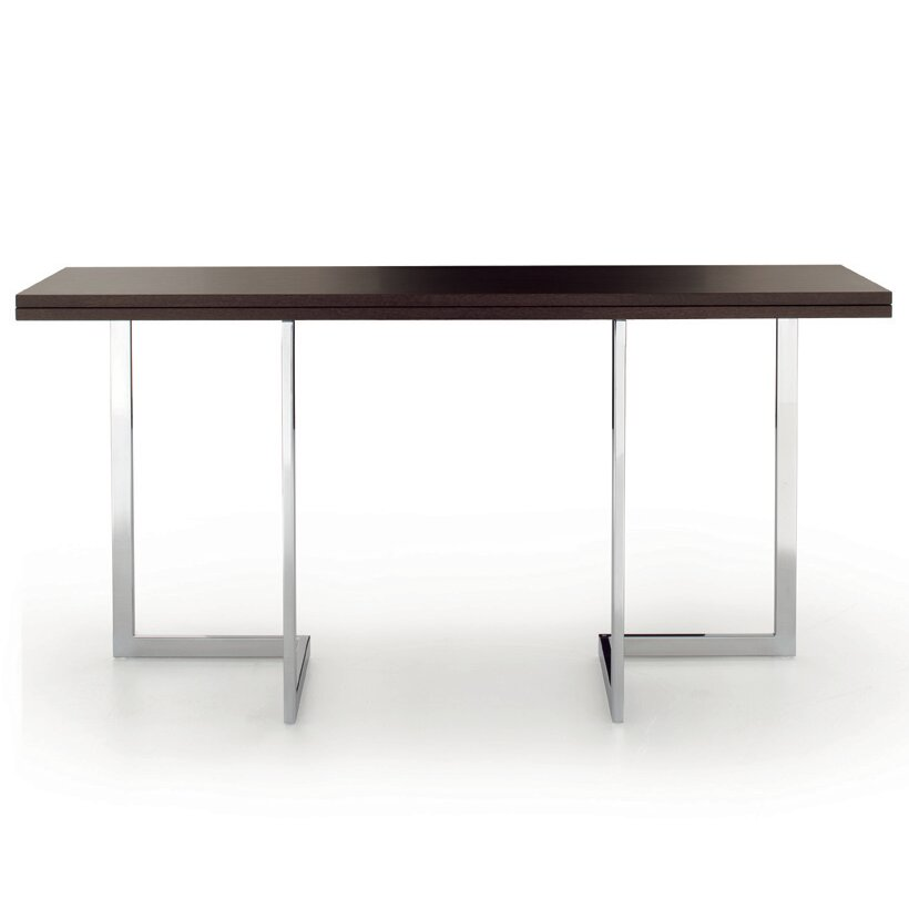 Oxford convertible console table wayfair for Convertible console table