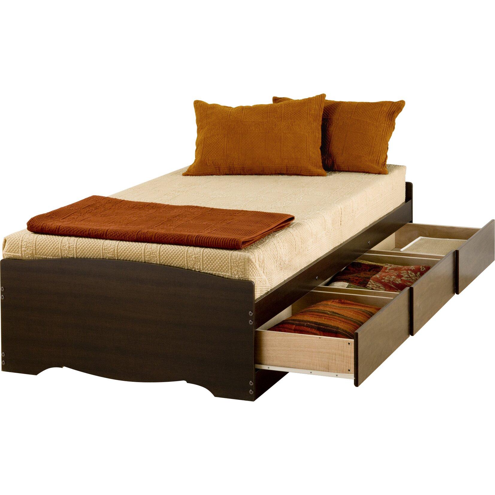 Twin Storage Platform Bed Wayfair