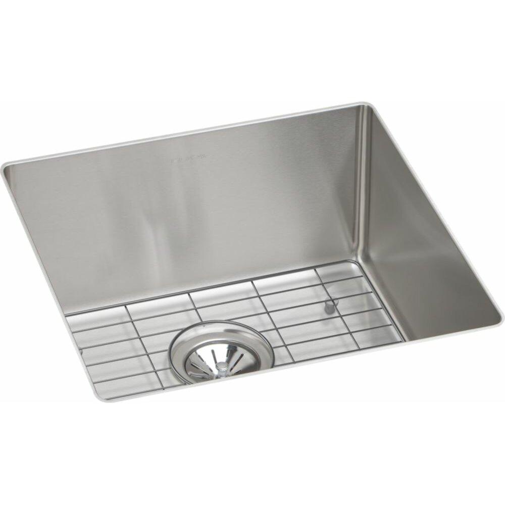 Crosstown Single Bowl Undermount Kitchen Sink Kit Wayfair
