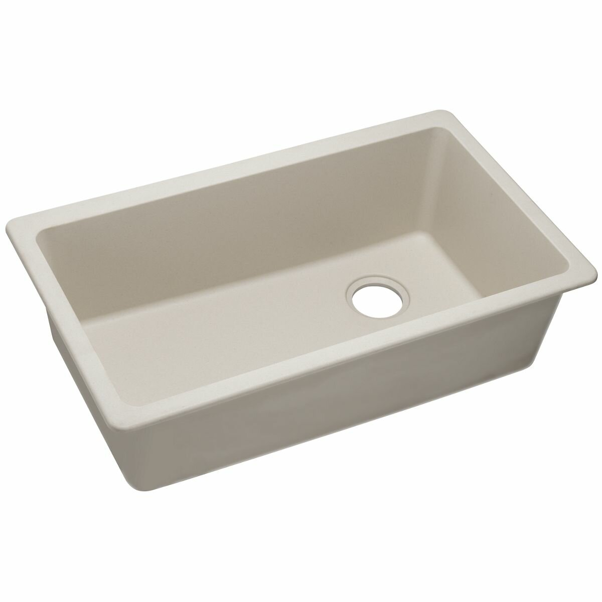 Quartz Classic Single Bowl Undermount Kitchen Sink