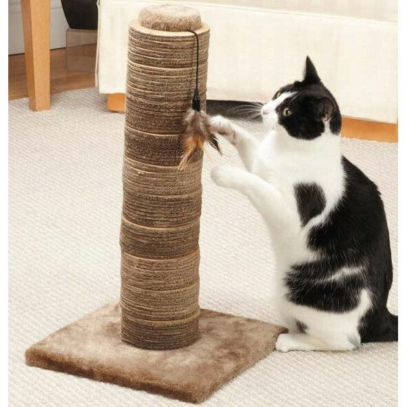 duo sisal cat scratching post wayfair. Black Bedroom Furniture Sets. Home Design Ideas