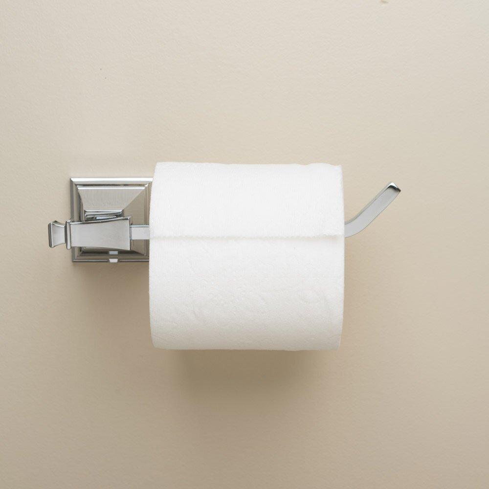 rainier wall mount toilet paper holder wayfair. Black Bedroom Furniture Sets. Home Design Ideas