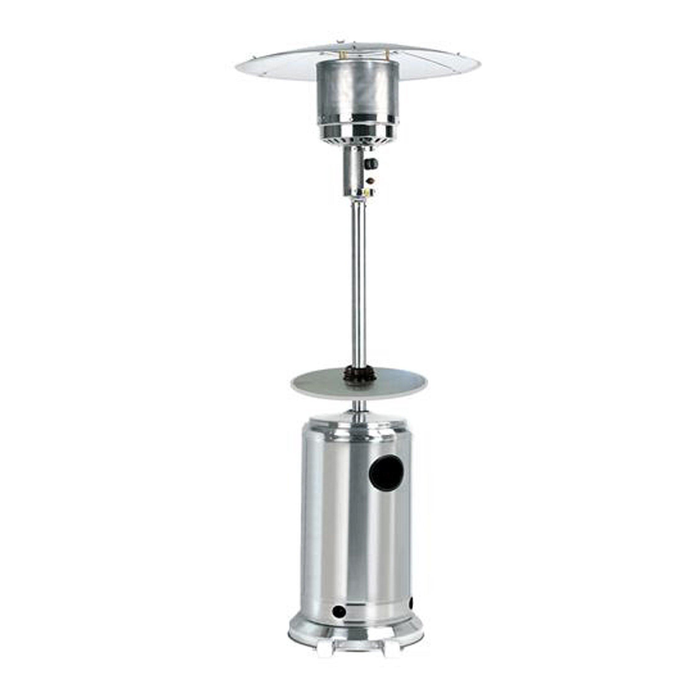 Az patio heaters tall propane patio heater with table - Garden treasures gas patio heater ...