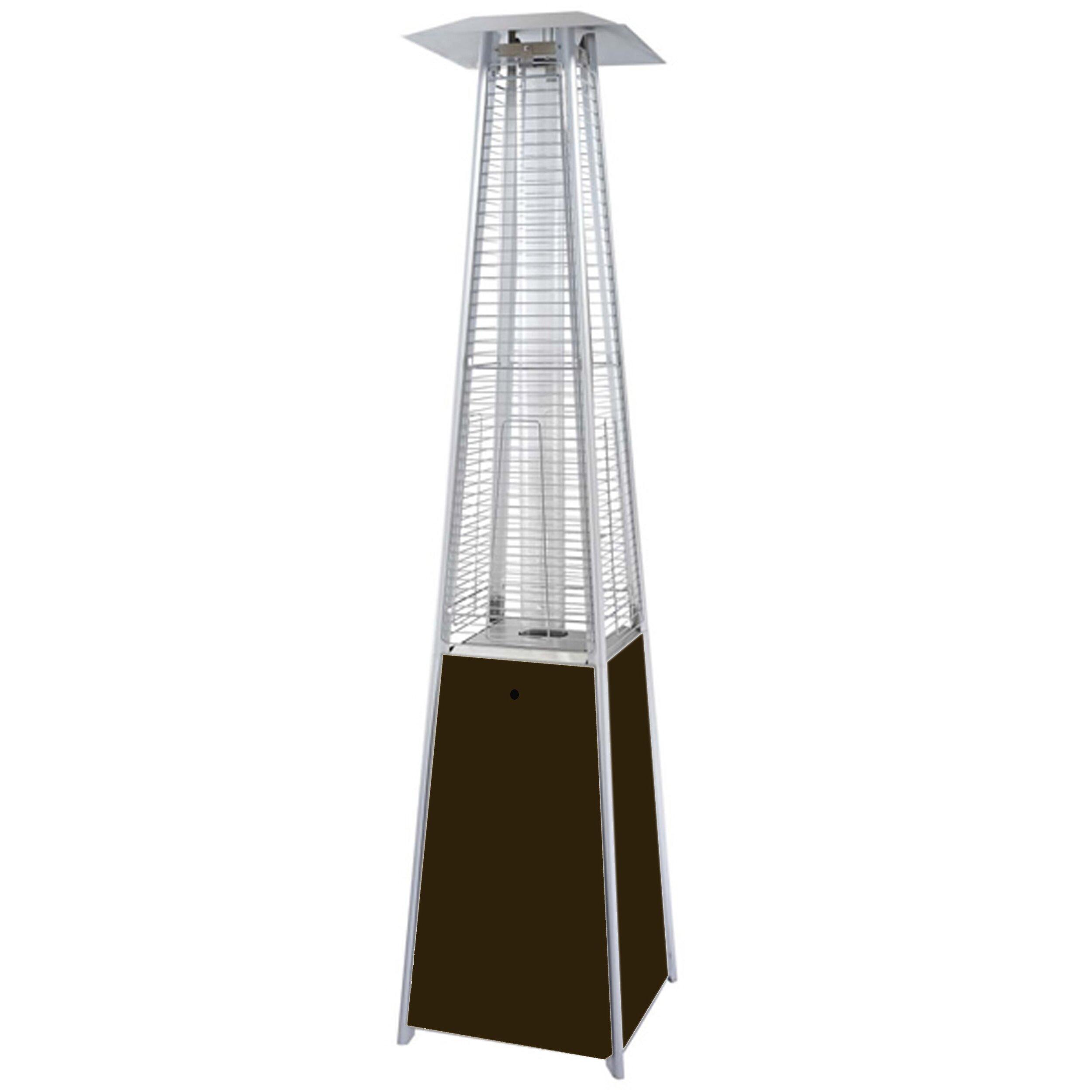 AZ Patio Heaters Tall Propane Patio Heater & Reviews