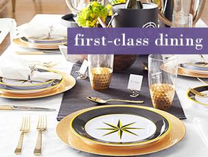 First-Class Dining