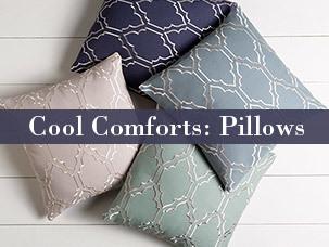 Cool Comforts: Pillows