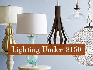 Lighting Under $150