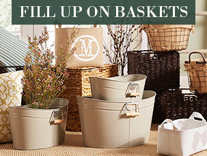Fill Up on Baskets