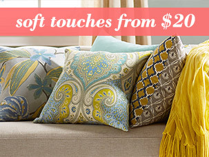 Soft Touches from $20