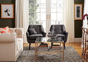 Furnish with Contrast