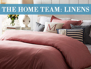 The Home Team: Linens