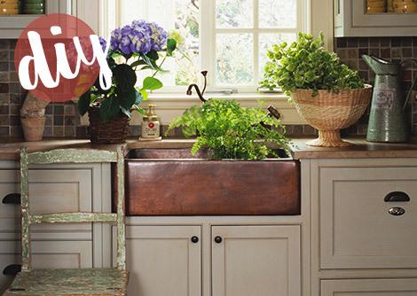 Create a Warm Kitchen