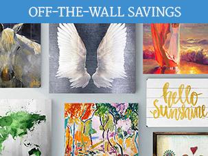 Off-the-Wall Savings