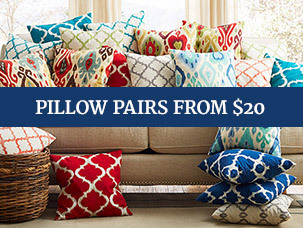 Pillow Pairs from $20