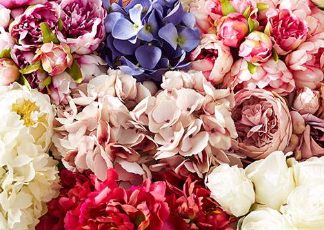 Pink & Purple Florals