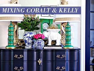 Mixing Cobalt & Kelly