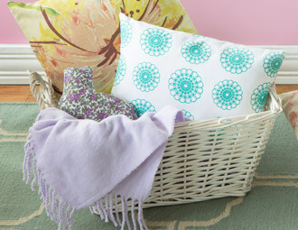Spring Awakening - Refresh Your Home with Plush Pillows, Rugs ...