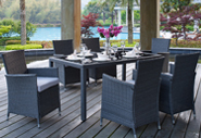 Fresh Al Fresco Finds: Outdoor Dining Sets